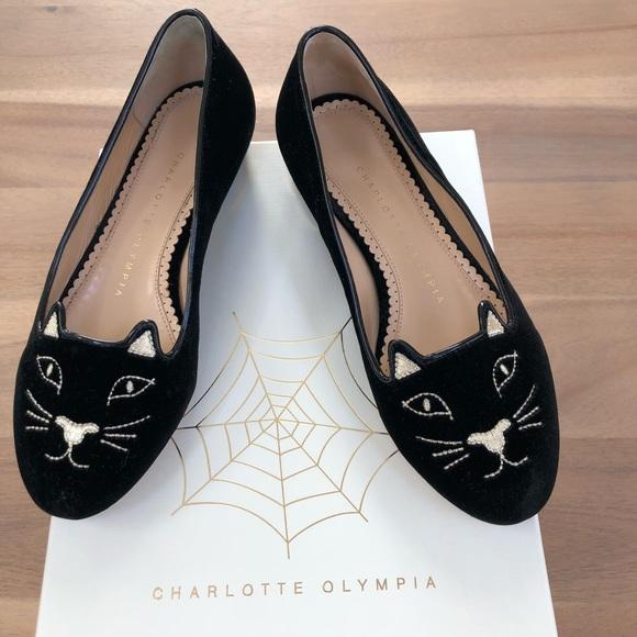 Charlotte Olympia Kitty Flats Size